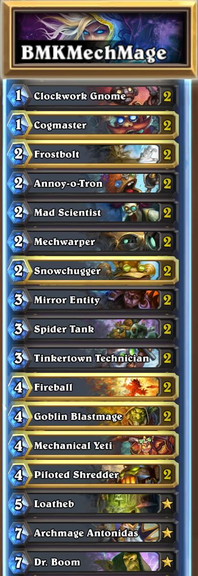 Brian Kibler shares tips and tricks for playing one of the most popular Hearthstone decks today: Mechmage