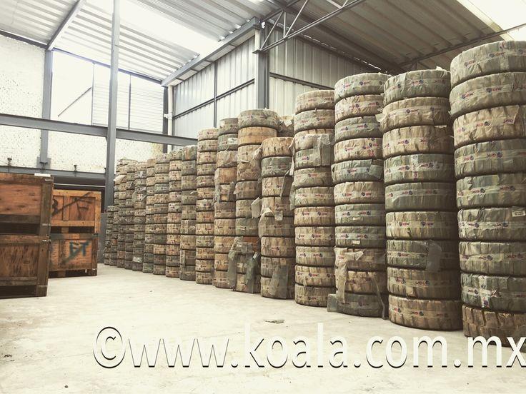 #KOALA = El mayor surtido en #llantas #industriales y para #montacargas de entrega inmediata con la mayor gama de #compuestos : #nomanchante