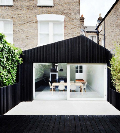 Modern extension Victorian house |Gundry and Ducker Architecture