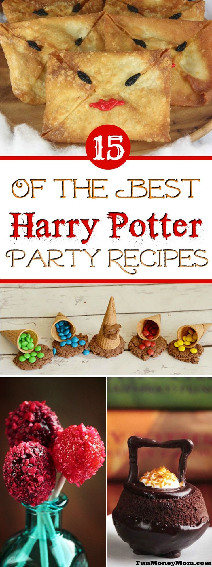 Harry Potter Recipes - These Harry Potter foods are perfect for a kids birthday party. Any Harry Potter party needs Butterbeer and chocolate frogs, right? #HarryPotter #HarryPotterParty