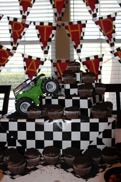 """Photo 13 of 37: Monster Truck / Birthday """"Monster Jam Party"""" 