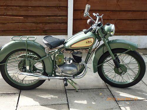 BSA Bantam D1 Classic Motorcycle 1952