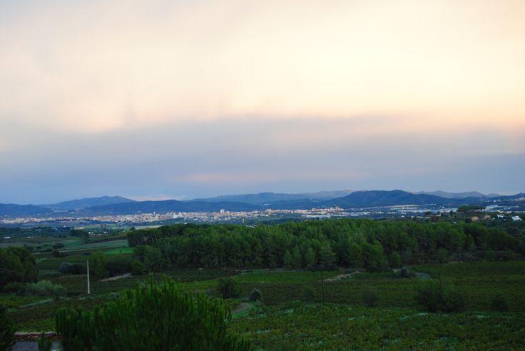 Vilafranca des de les Conilleres