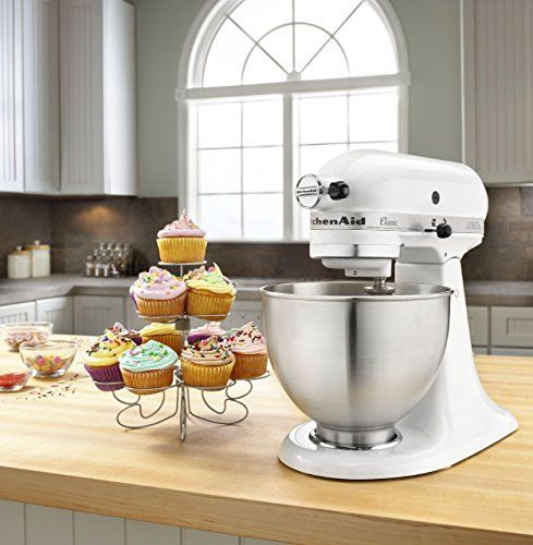 All important differences between the KitchenAid Classic Stand Mixer vs. KitchenAid Classic Plus Stand Mixer - you will be surprised with our conclusion! www.CookLoveEat.com
