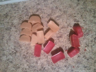 Make your own scent blocks for your warmers! A great use for those half burned candles sitting around your house! Love this idea!