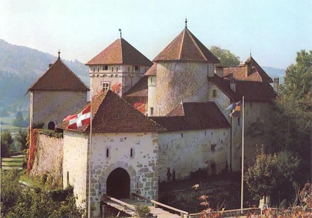 Château de Thorens à visiter avec les Guides du PAtrimoine des Pays de Savoie http://www.gpps.fr/Guides-du-Patrimoine-des-Pays-de-Savoie/Pages/Site/Visites-en-Savoie-Mont-Blanc/Genevois/Albanais-Massif-des-Bauges-Saleve-et-Pays-de-Filliere/Chateau-de-Thorens