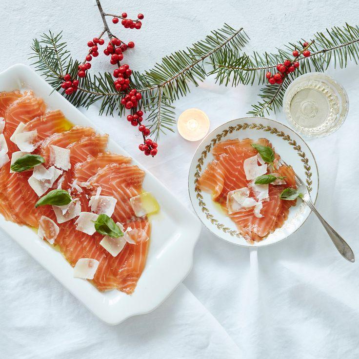Lohicarpaccio | K-ruoka #joulu #kalapöytä