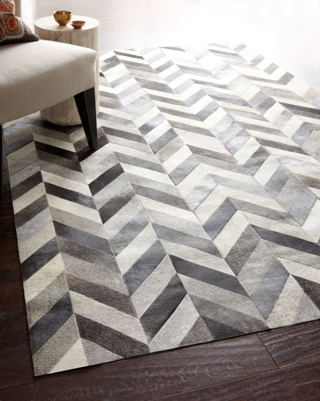 I discovered this Chevron Hide Rug on Keep. View it now.
