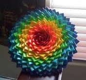 Worlds biggest duck tape flower :)
