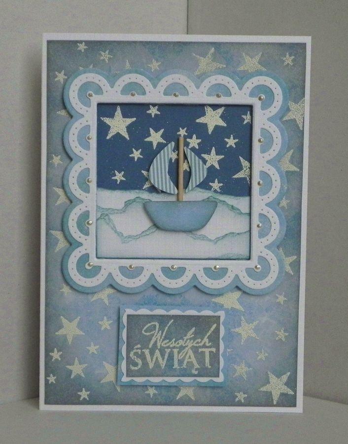 Magazyn Towarów Niemasowych: Zimowe kartki z motywem żeglarskim