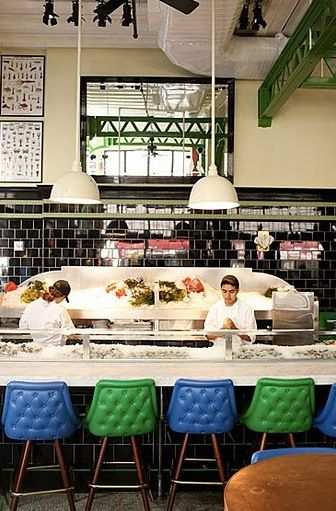 John Dory Oyster Bar at the Ace Hotel: Get the Look
