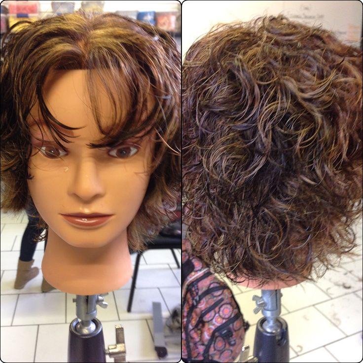 90 Degree Hair Cut (short Layered Haircut)