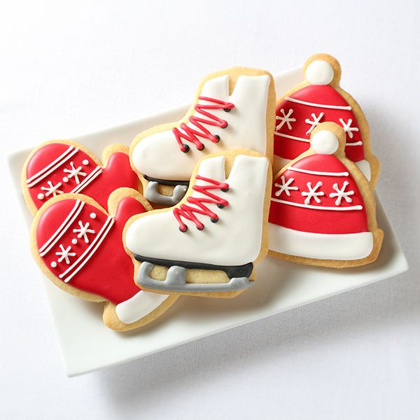 """""""SKATING PARTY"""" DECORATED COOKIE"""