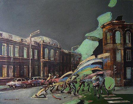 City incident 4 by Romeo Melikyan