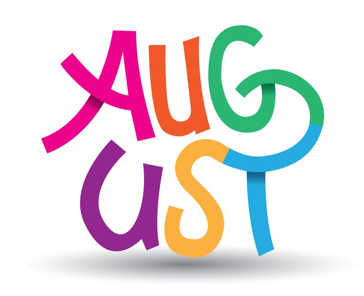 August handlettering