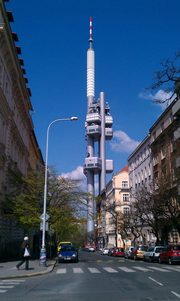 Žižkov Tower, Prague, Czechia