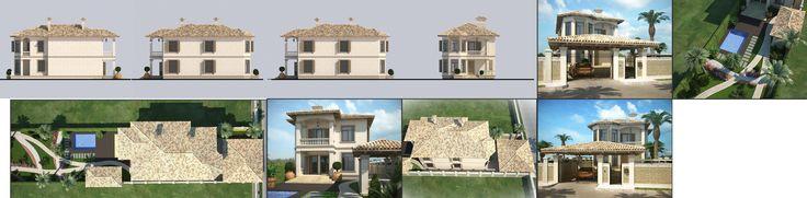 Проекты жилых домов Средиземноморский стиль Одесса Архимас