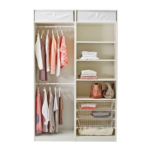 PAX Garderob - mjukstängande anordning, 150x66x236 cm - IKEA