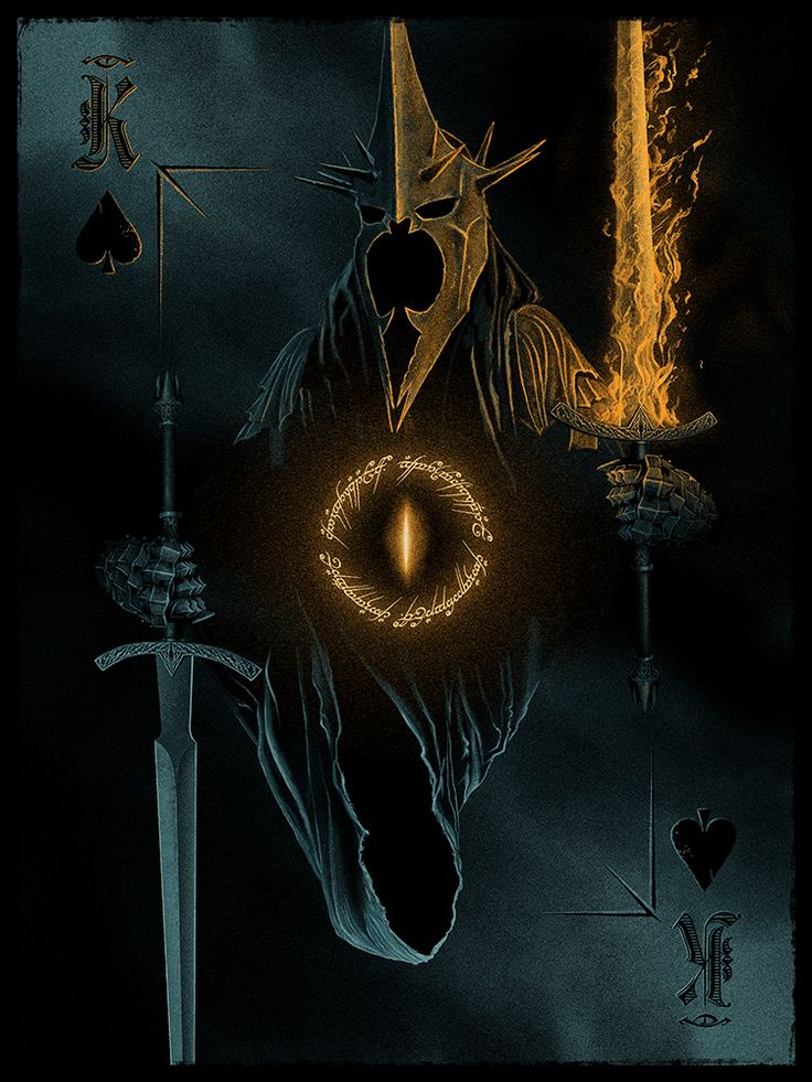 "King of Spades: ""Witch-King of Angmar"" by Marko Manev"
