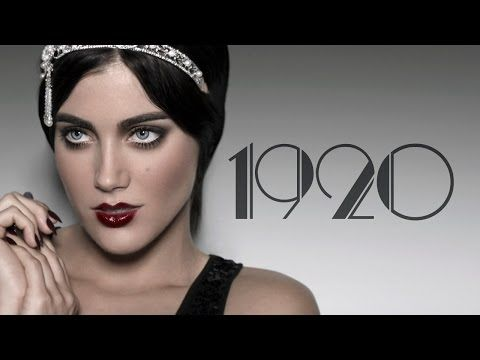 1920's Makeup Tutorial - YouTube