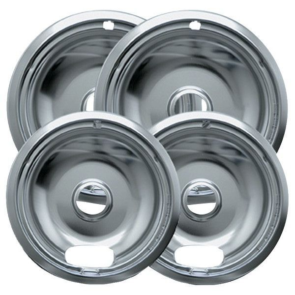 Range Kleen 10142xn Universal Chrome Drip Pans Style A