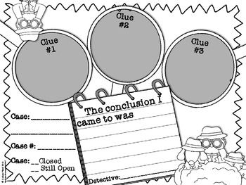 Drawing Conclusions Graphic Organizer {FREE}