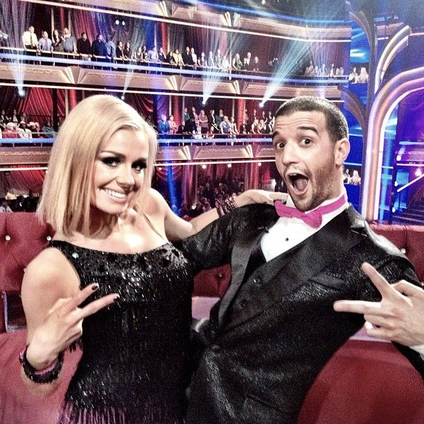 My pick to win the Mirror Ball: Mark Ballas and Katherine Jenkins.