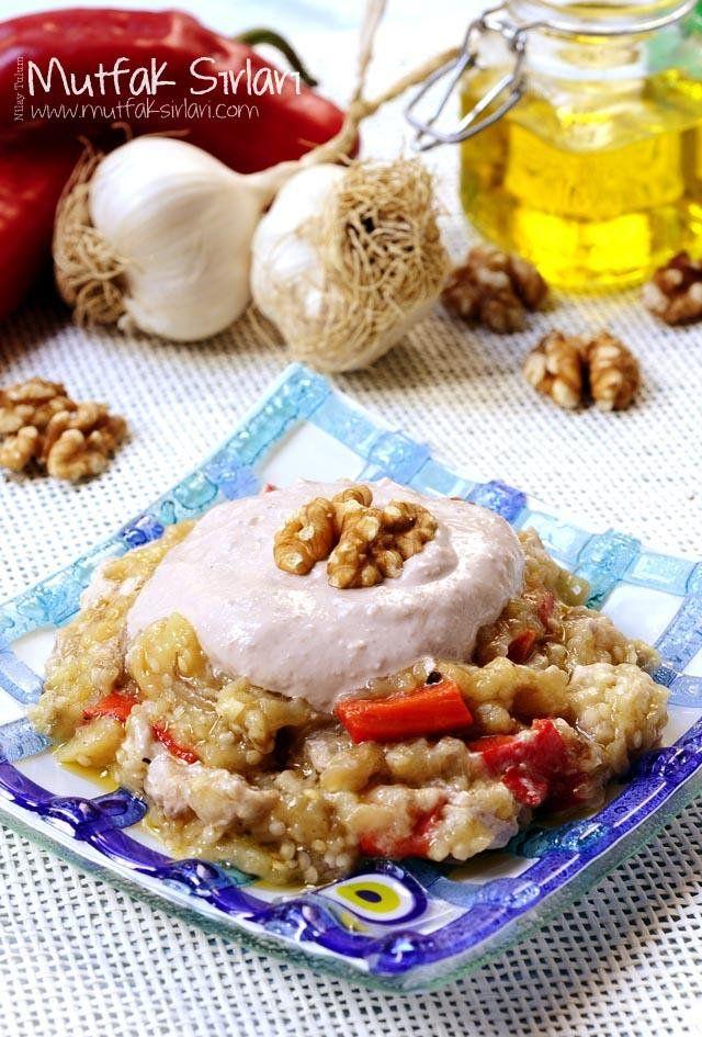 Ceviz ve Tahin Soslu Patlıcan Salatası | Mutfak Sırları