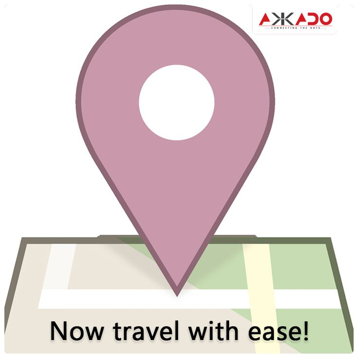 Now travel with ease. #Akkado #ConnectingtheDots #FacebookPlaces