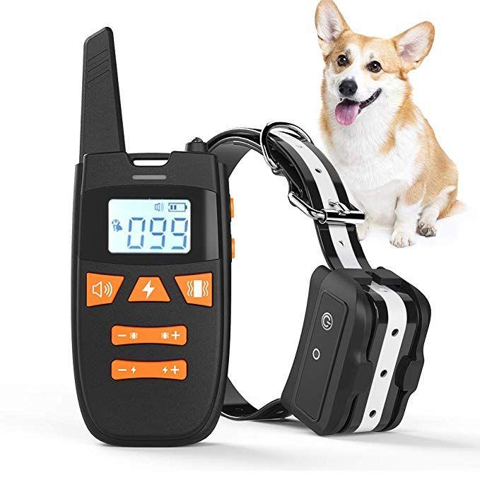 Haliluya Dog Training Collar Rechargeable Dog Shock Collar With
