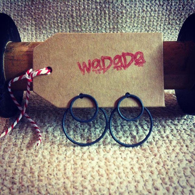 Black is black: Ear Jacket in Argento925 ossidato. #wadada #jewelry #jewellery #handmade #fattoamano #madeinitaly #sterlingsilver #oxydised #ossidato #circle #cerchio #argento #artigianato #minimal #essence #instastyles #instafashion #contemporary #earcuff #earjacket #style #fashionstatement #customorder #blackisblack