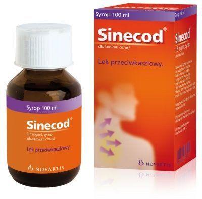 SINECOD syrup 200ml bronchitis symptoms in children 4