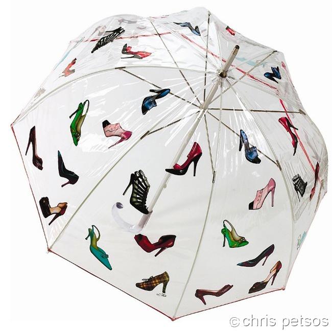 Ladies Shoe Fancy umbrella