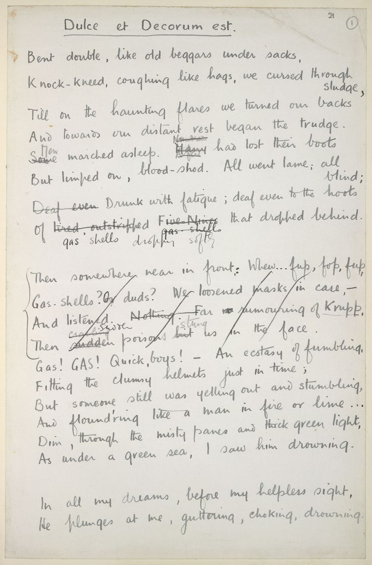 17 best images about wilfred owen wilfred owen poet wilfred owen was born on the 18 this is the opening of his poem dulce et decorum est owen wrote the poem whilst serving as a ier in the