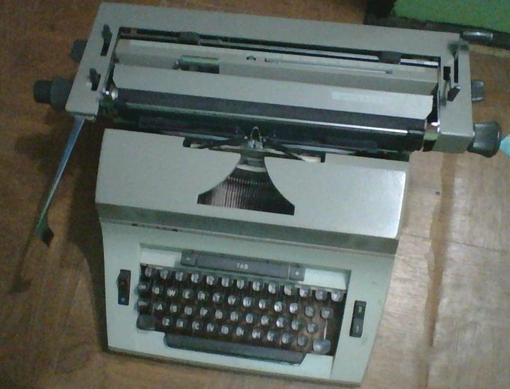 Typewriter for sale... negotiable