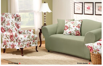 Fun Accents With Floral Patterns...