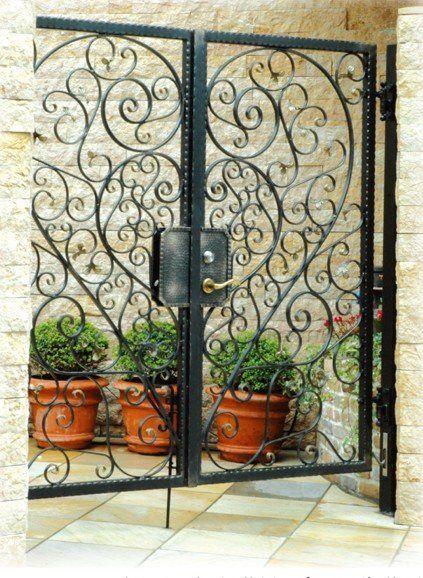 Amazing Weiku.com...artistic Iron Gate. Beautiful Interior ...