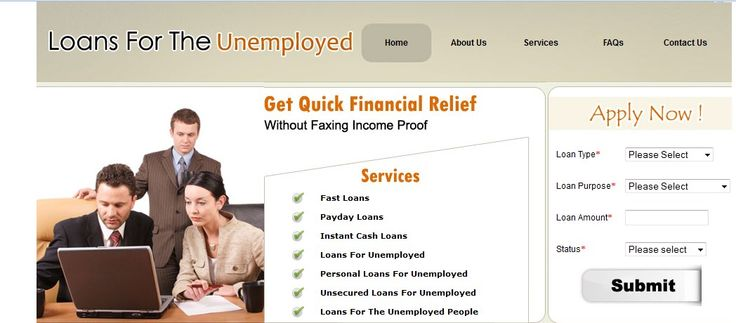 Loans for the unemployed is a one-stop shop specially designed for the unemployed people residing in Australia. You can apply fast loans, payday loans, instant cash loans, loans for unemployed, personal loans, unsecured loans and loans for the unemployed people.