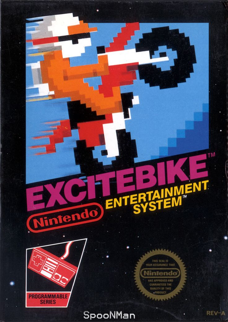 Excitebike - NES Game Original Nintendo NES game cartridge only. All DK's classic used games are cleaned, tested, guaranteed to work and backed by a 120 day warranty.