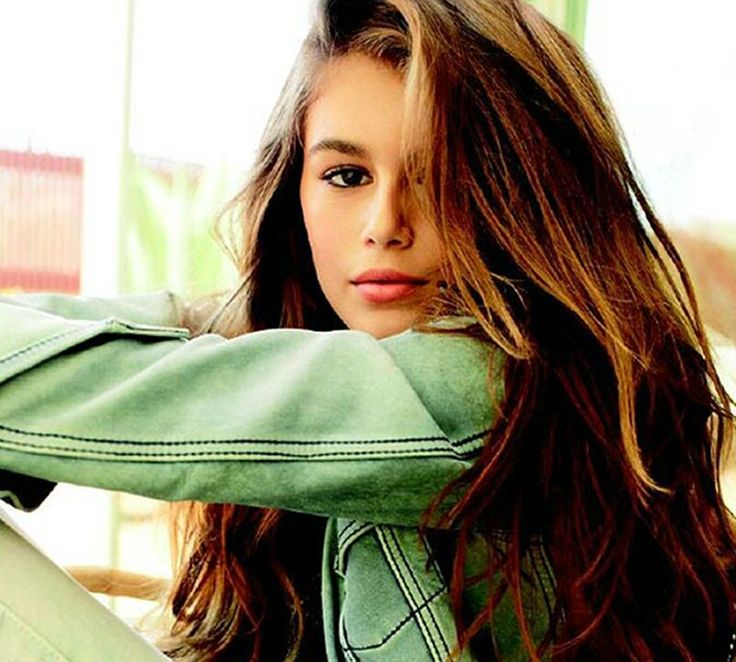 Kaia Gerber - Born September 3, 2001 (age 16 in 2017) Daughter of Cindy Crawford
