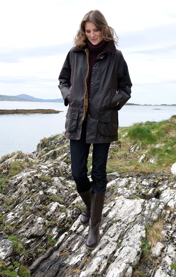 Barbour Beaufort Wachsjacke  für Damen und Herren