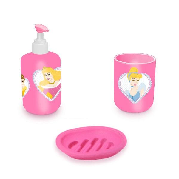 Pack accessoire de salle de bain 'Disney Princesse' par Eli