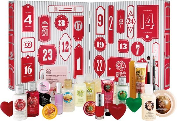 The Body Shop Advent Calendar for Holiday 2014