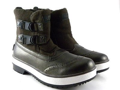 UGG Austrlaia Marrais Chocolate Brown Winter Boots Womens Shoes 1001741 in Boots   eBay
