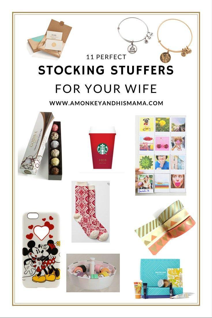 11 perfect stocking stuffers for your wife // www.amonkeyandhismama.com