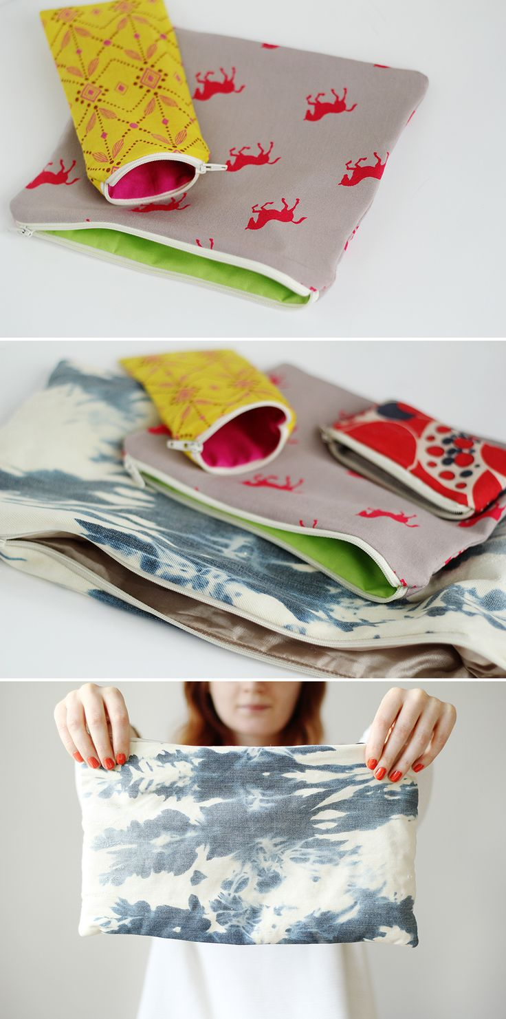 Fall For DIY Zip Pouch. How To Make a Bag for Everything!