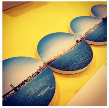 Coasters from your Instagram Photos - fun hostess gift (or anyone gift!)