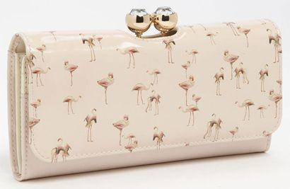 Need this! ted-baker-london-flamingo-print-matinee-wallet
