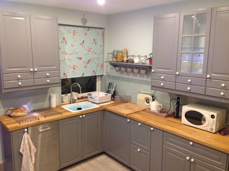 67 Best Images About Ikea Bodbyn Grey Kitchen On Pinterest Islands Walnut Countertop And