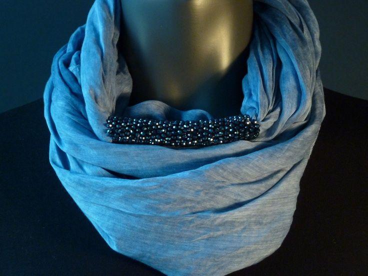 Melange light|dark|total midnight blue